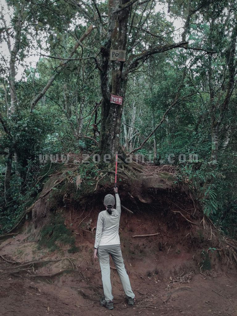 POS 3 Gunung Burangrang via Legok Haji