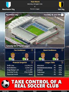 Club Soccer Director 2018 MOD APK Infinite Unlimited  Gold Coins