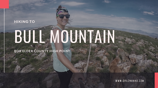 Hiking to Bull Mountain, Box Elder County High Point