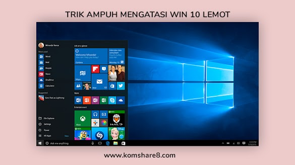 13 Cara Ampuh Mengatasi Laptop Lemot Windows 10
