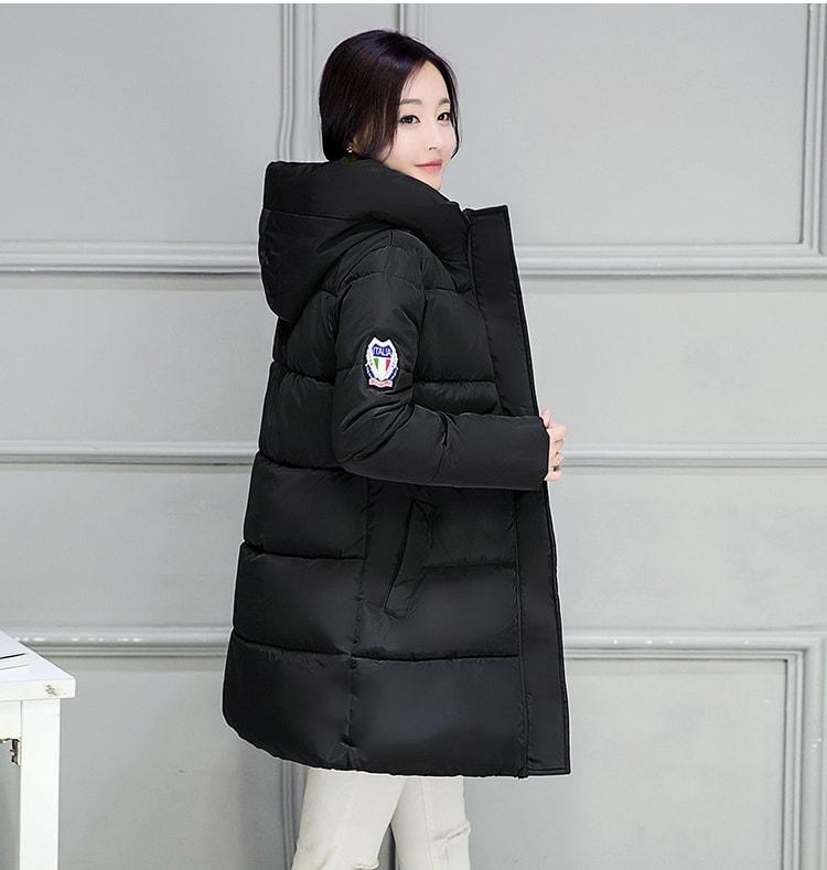 LONG COAT IMPORT KOREA STYLE - BAJU MUSIM DINGIN - JAKET BULU