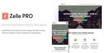 Zelle PRO v2.1.5 – WordPress Theme