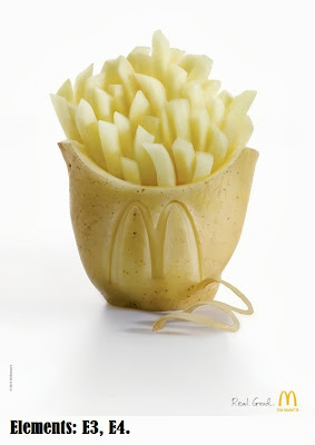 McDonalds print ad marketing