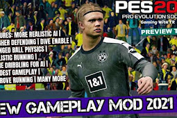 New Mod Gameplay 2021 V2b - PES 2017