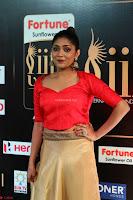 Samyukta Hamod in Red Crop top Brown Skirt at IIFA Utsavam Awards 012.JPG
