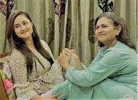 Rashami Desai with his Mother
