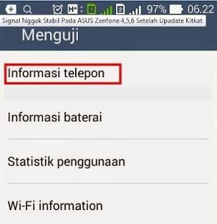 Cara Untuk Memperkuat sekaligus Mengoptimalkan Sinyal Android Asus ZenFone