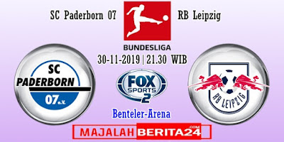 Prediksi SC Paderborn vs RB Leipzig — 30 November 2019