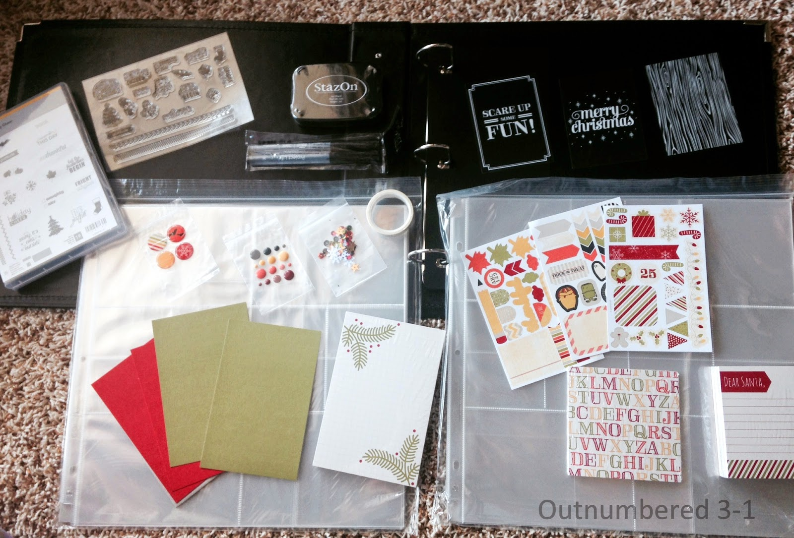 Holiday Memories, Stampin' Up!, Scrapbooking, Stamps