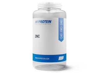 Bote de comprimidos de zinc