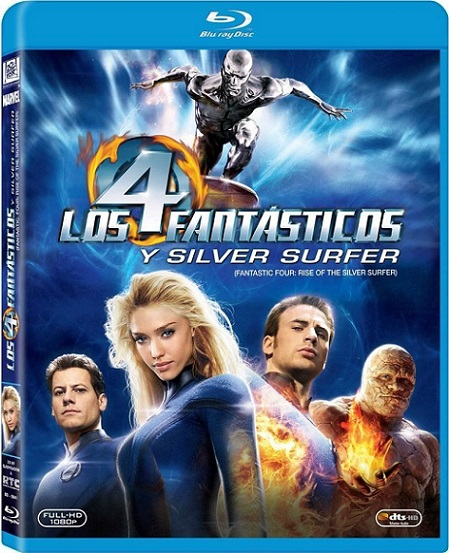 Fantastic Four: Rise of the Silver Surfer (Los 4 Fantásticos y Silver Surfer) (2007) 720p y 1080p BDRip mkv Dual Audio AC3 5.1 ch