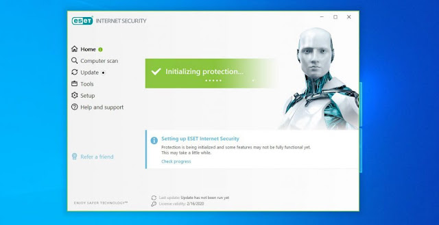 Serial Number Eset NOD32 Antivirus 10 up to 2022