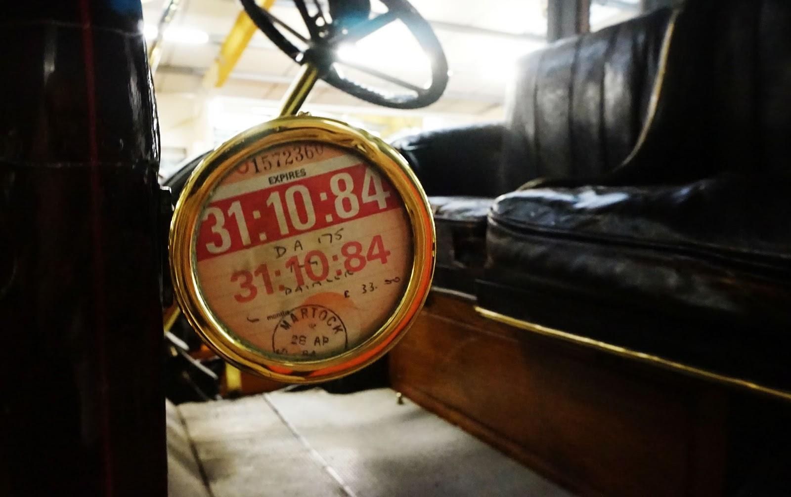 classic car tax disc 1984 history nostalgic haynes motor museum