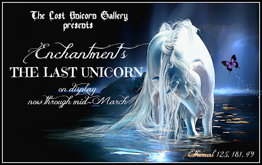 New Exhibit at The Lost Unicorn Gallery!