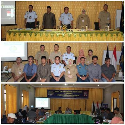 Kakan. Kemenag Tanjungbalai Kunjungi Rapat TIMPORA