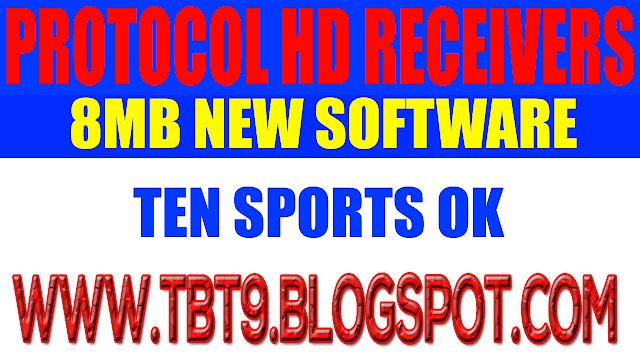PROTOCOL HD RECEIVERS 8MB 1506F NEW SOFTWARE TEN SPORTS OK