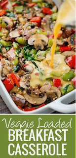 Primal Veggie-Loaded Breakfast Casserole Recipe
