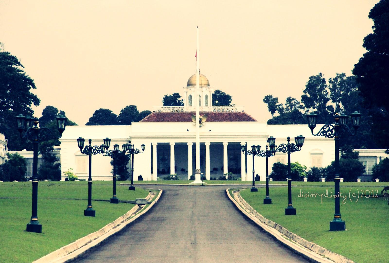 DISIMPLIVITY Konservasi Arsitektur Istana Bogor