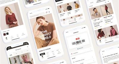 """UNIQLO สานต่อกลยุทธ์ O2O ให้ลูกค้าได้ช้อปสนุกผ่าน """"ยูนิโคล่แอปพลิเคชัน""""  แพลตฟอร์มที่เชื่อมโยงร้านออฟไลน์กับโลกออนไลน์ได้อย่างลงตัวยิ่งขึ้น"""