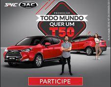 Promoção Todo Mundo quer um JAC T50 todomundoquerumt50.com.br