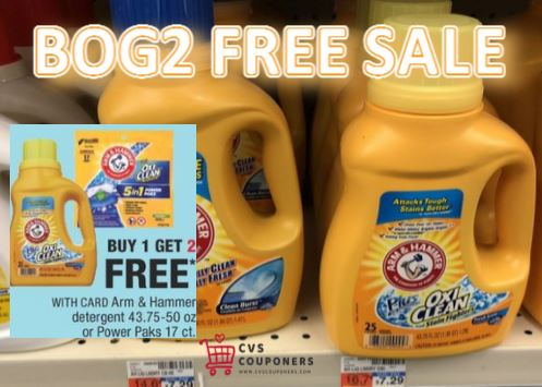arm & hammer cvs couponers deal
