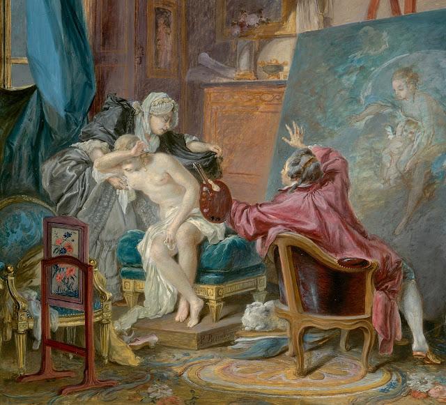 Pierre Antoine Baudouin: La casta modella