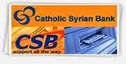 Catholic Syrian Bank Careers 2013
