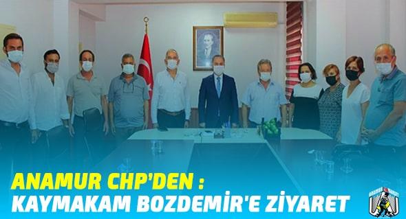 Anamur Son Dakika,CHP ANAMUR,Durmuş Deniz,Anamur Haber,