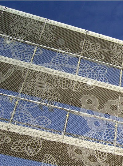 if it u0026 39 s hip  it u0026 39 s here  archives   turning chain link fencing into art  lace fences by demakersvan