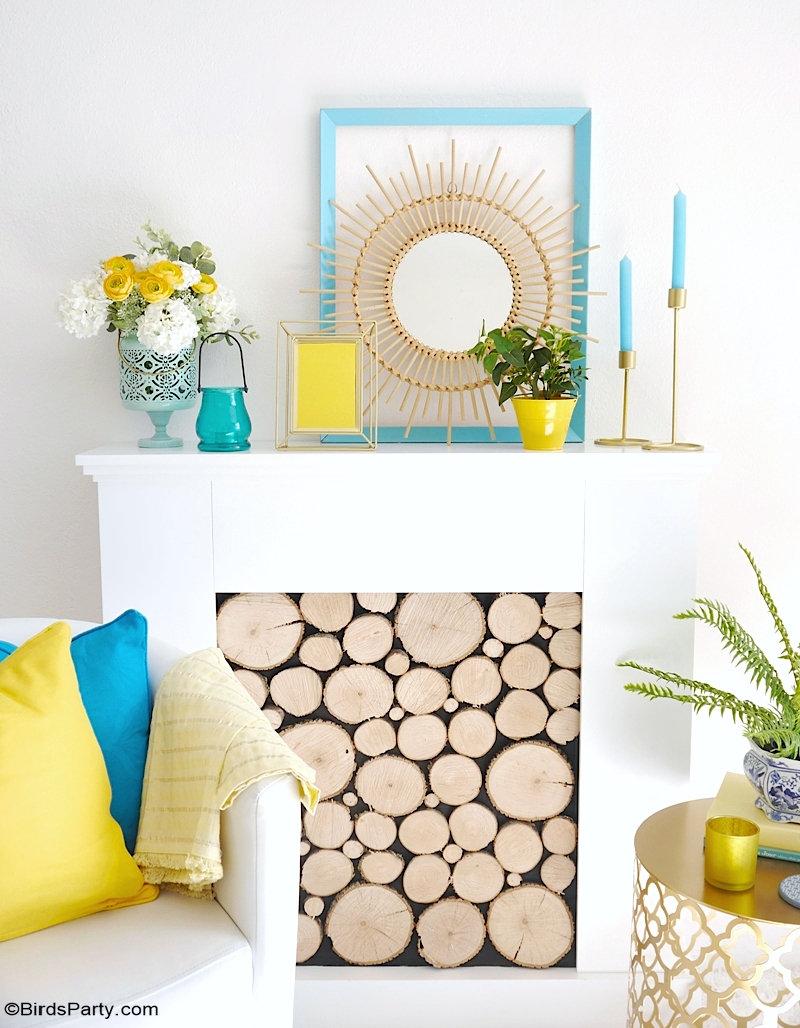 Idées Simples de Décoration d'été et Tables Estivales -  - idées faciles et rapide pour décorer votre intérieur ou une table estivale!