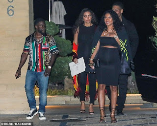 Kevin Hart shows off his eccentric sense of style as he steps out with pregnant wife Eniko
