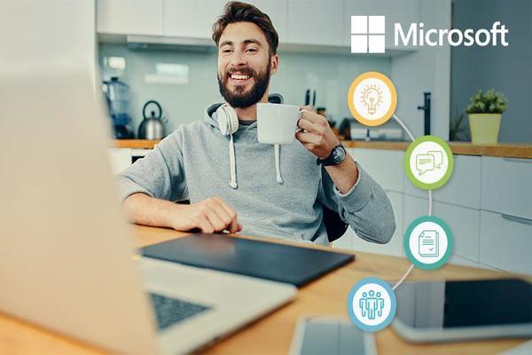 مايكروسوفت تسمح لموظفيها بالعمل من المنزل بصفة دائمة