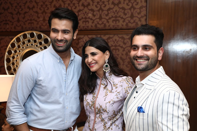 Danish, Aahana Kumra and RahilTandon