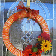 7 Days of Fall Decor: Day 7 - Fall Yarn Wreath