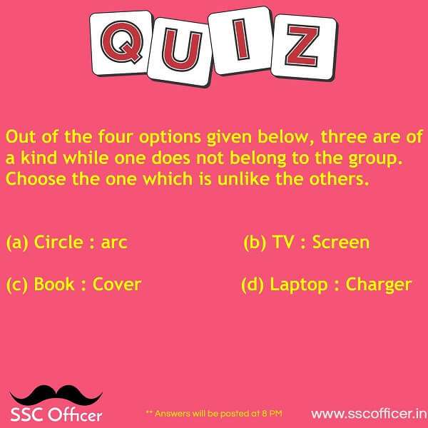 Reasoning Practice Questions for SSC CGL