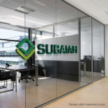 Desain Logo Untuk Fashion Muslim Syari SUBAIAH