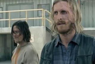 Imagem de Daryl e Dwight lado a lado