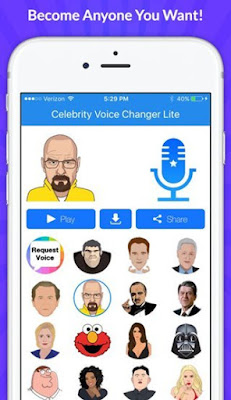 Celebrity Voice Changer