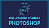 The Evolution of Adobe Photoshop #infographic