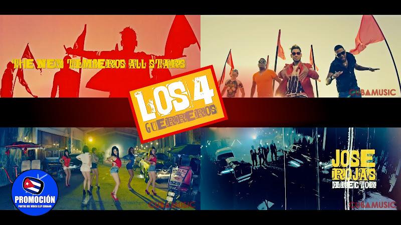 The New Timberos All Star ¨Los Cuatro Guerreros¨ - Videoclip - Dir: Jose Rojas. Portal Del Vídeo Clip Cubano. Música popular bailable cubana. Cuba.