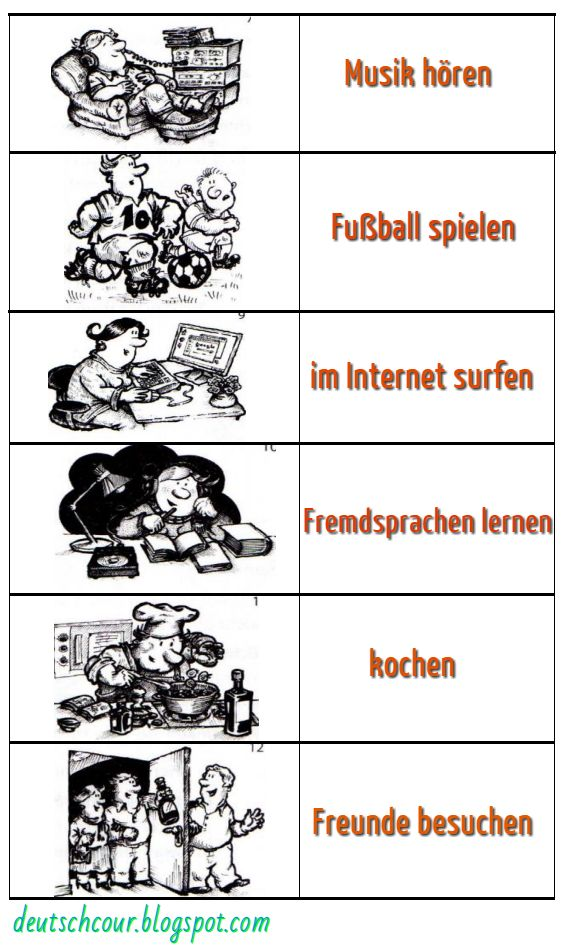 hobby deutsch