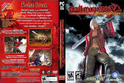 Devil May Cry 3 Special Edition PC DVD Capa