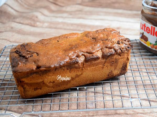 Bizcocho Mármol a la Nutella (Gâteau Marbré au Nutella) Vídeo Receta