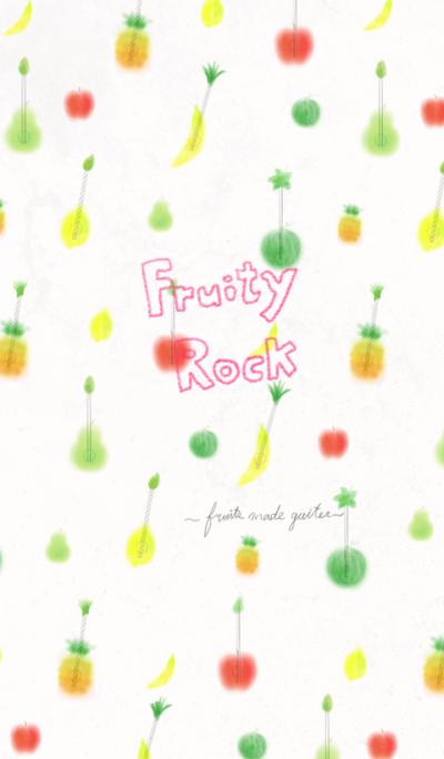 Fruity rock ~Fruits made guitar~