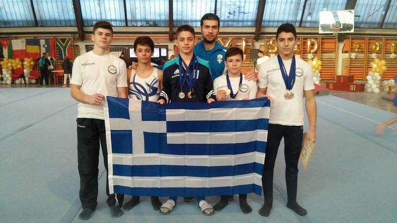 Τέσσερα μετάλλια ο Γιώργος Κελεσίδης σε διεθνές μίτινγκ ενόργανης στο Νόβι Σαντ της Σερβίας