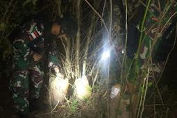 Satgas Pamtas RI-RDTL Yonarmed 6/3 Kostrad Kembali Gagalkan Usaha Penyelundupan Barang Ilegal