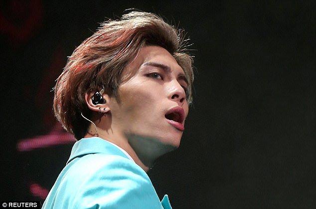 Lead singer of South Korean boy band SHINee 'kills himself' with carbon monoxide