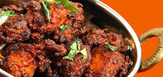 Kerala pathiri and Chicken fry