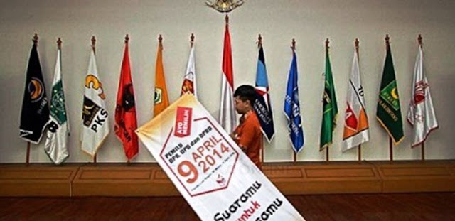 Tujuh Parpol Gagal Lolos Syarat Administrasi Pemilu 2019