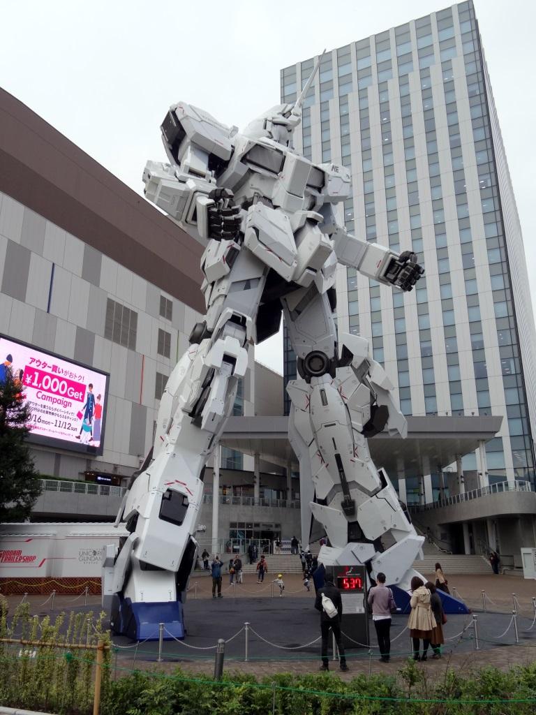 Mikehattsu Anime Journeys Gundam Unicorn Statue